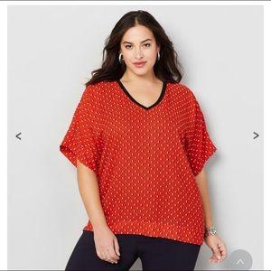 Plus size blouse by Avenue